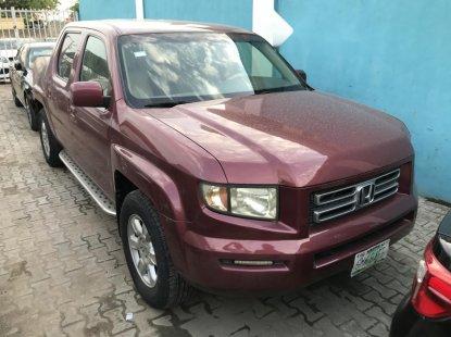 Nigeria Used Honda Ridgeline 2008 Model Red