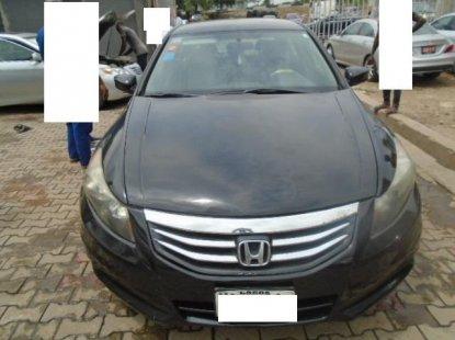 Nigeria Used Honda Accord 2012 Model Black