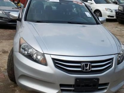 Foreign Used Honda Accord 2012 Model Silver