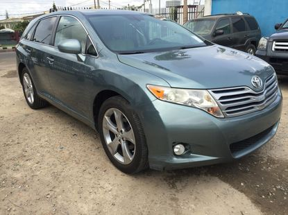 Foreign Used Toyota Venza 2009 Model Blue