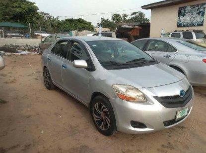 Nigeria Used Toyota Yaris 2007 Model Silver