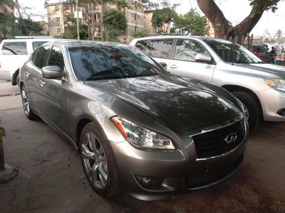Foreign Used Infinity FX 2014 Model Gray