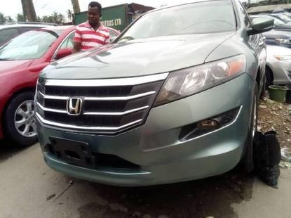 Foreign Used 2011 Dark Green Honda Accord CrossTour for sale in Lagos