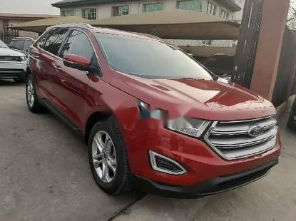 Foreign Used Ford Edge 2018 Model Red