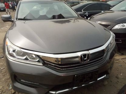 Foreign Used Honda Accord 2017 Model Gray