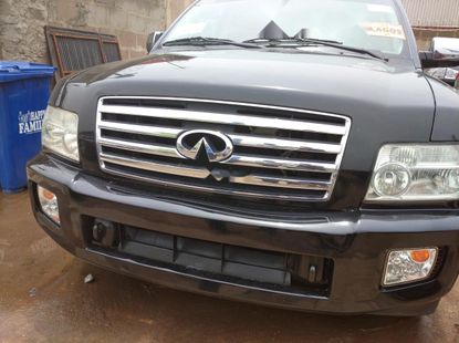 Foreign Used Infinity QX60 2006 Model Black