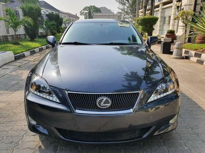 Foreign Used Lexus IS 2007 Model Gray