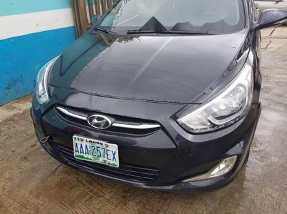 Nigeria Used Hyundai Accent 2014 Model Gray