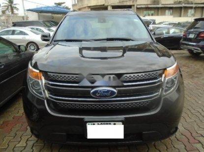 Nigeria Used Ford Explorer 2013 Model Gray