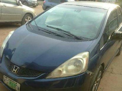 Nigeria Used Honda Fit 2009 Model Blue