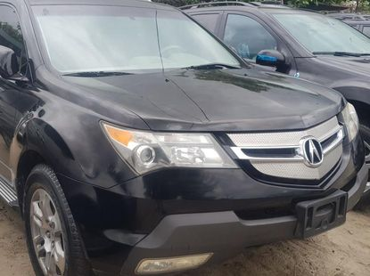 Foreign Used Acura MDX 2009 Model Black