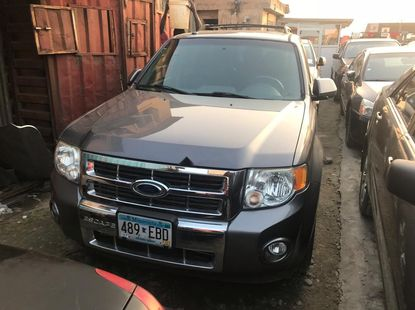 Foreign Used 2010 Dark Grey Ford Escape for sale in Lagos