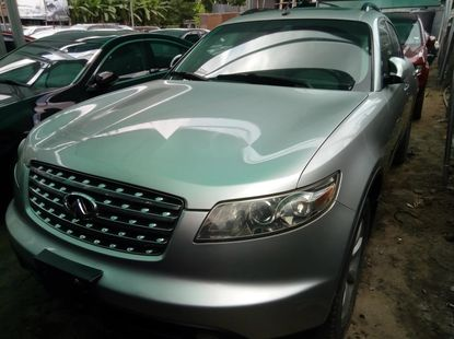 Foreign Used Infinity FX 2006 Model Silver