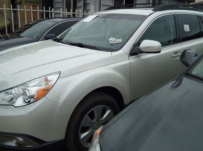 Foreign Used Subaru Outback 2010 Model White
