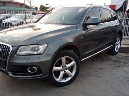 Nigeria Used Audi Q5 2013 Model Gray