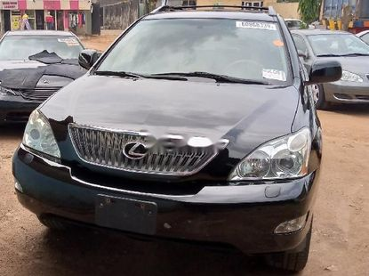Foreign Used Lexus RX 2007 Model Black