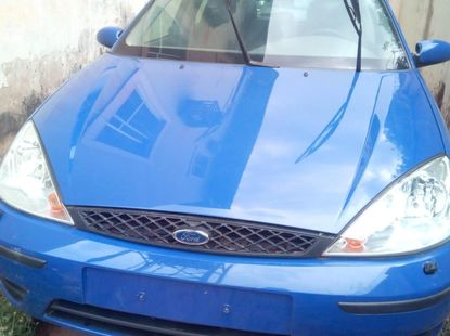 Foreign Used Ford Focus 2005 Model Blue