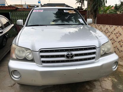Foreign Used Toyota Highlander 2002 Model