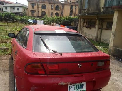 Well Maintained Nigerian Used Mazda 323  2000 Model Manual Transmission