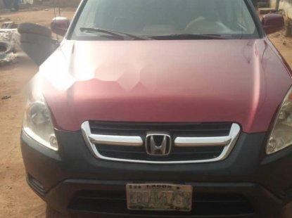 Nigeria Used Honda CR-V 2004 Model Red