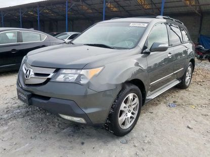Foreign Used 2008 Grey Acura RDX for sale in Lagos
