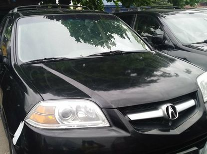 Foreign Used 2005 Black Acura MDX for sale in Lagos