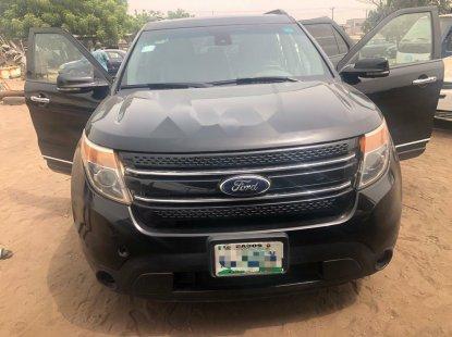 Nigeria Used Ford Explorer 2013 Model Black
