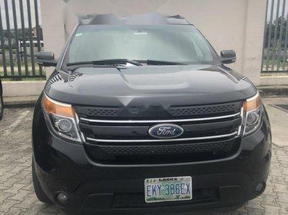 Nigeria Used Ford Explorer 2012 Model Black