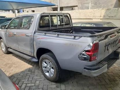 Foreign Used Toyota Hilux 2018 Model Silver