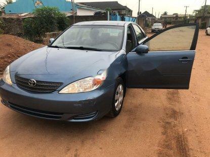 Nigeria Used Toyota Camry 2002 Model Blue