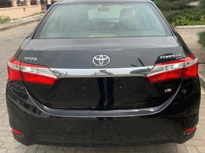 Locally Used Toyota Corolla 2014 Model