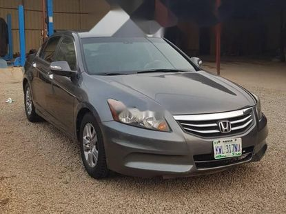 Nigeria Used Honda Accord 2012 Model Gray