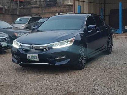 Nigeria Used Honda Accord 2016 Model Gray