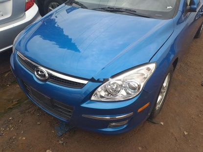 Foreign Used 2011 Blue Hyundai Elantra for sale in Lagos