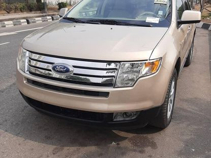 Foreign Used 2007 Ford Edge for sale in Lagos.