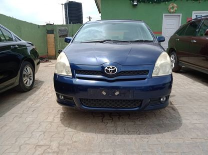 Foreign used Toyota Corolla Verso 2005 Right Hand Drive
