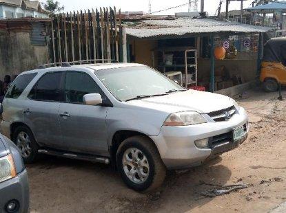 Nigeria Used Acura MDX 2003 Model Silver