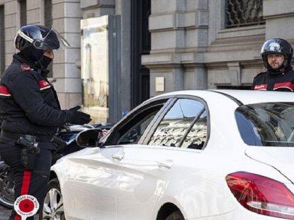 Randy couple having sex in car arrested for violating coronavirus lockdown in Italy