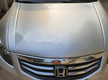 Nigeria Used Honda Accord 2012 Model Silver