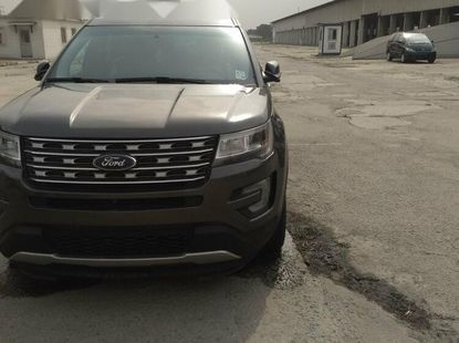 Foreign Used Ford Explorer 2017 Model Gray