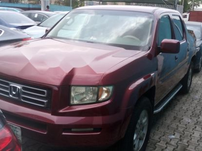 Nigeria Used Honda Ridgeline 2007 Model Red