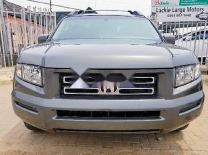 Nigeria Used Honda Ridgeline 2006 Model Gray