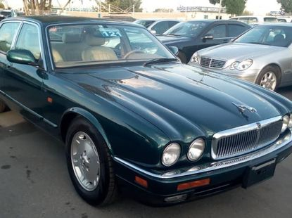 Foreign Used Jaguar XJ 2007 Model Blue