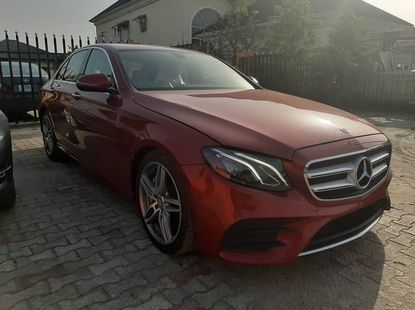 Super Clean Foreign Used Mercedes Benz E300 2016 Model