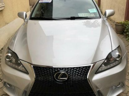Foreign Used Lexus IS 2009 Model Silver