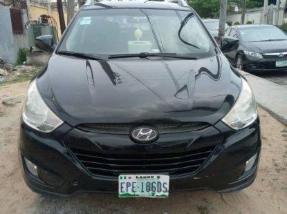 Nigeria Used Hyundai ix35 2013 Model Black