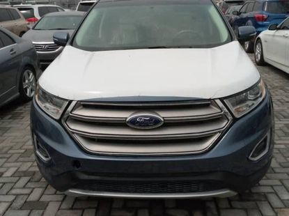 Foreign Used 2019 Dark Grey Ford Edge for sale in Lagos.
