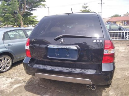 Foreign Used Acura MDX 2001 Model Black