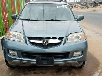 Foreign Used Acura MDX 2005 Model Blue