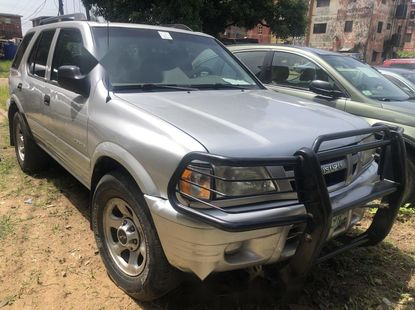 Nigeria Used Isuzu Rodeo 2001 Model Silver